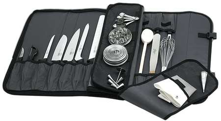 Knife Case, 17 pcs., Poly, 21 In.