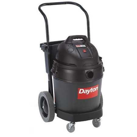 Wet/Dry Vacuum, Air Flow 105 cfm, 3 HP