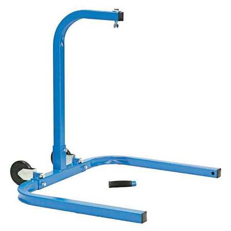Mounting Bracket, Steel, Blue Powder Coat