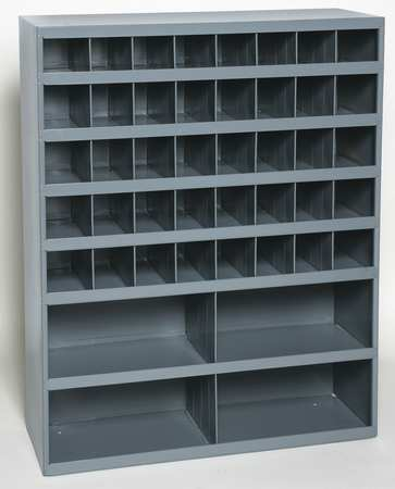 Bin Unit, 44 Bins, 33-3/4 x 12 x 42 In.
