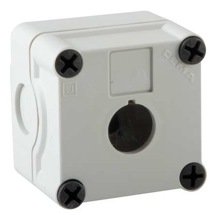 Pushbutton Enclosure, 22mm, 2.83 in. H