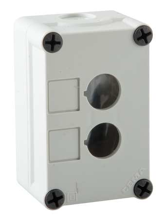 Pushbutton Enclosure, 22mm, 4.33 in. H