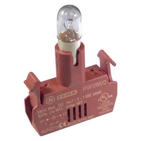 Lamp Module With Bulb, 22mm, 24VAC/DC