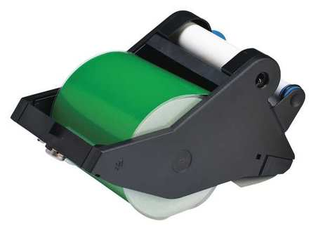 Tape, White/Green, 90 ft. L, 4 In. W