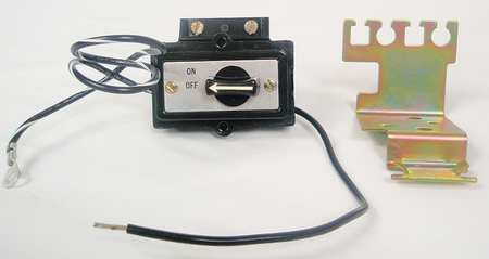 Selector Switch Kit, Off-On, Size 2, Black