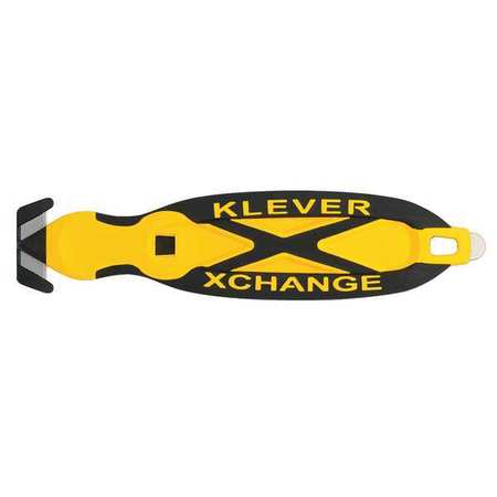 Safety Cutter, 6-1/2 in., Black/Yellow