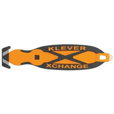 Safety Cutter, 6-1/2 in., Black/Orange