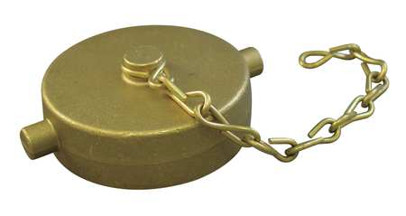 Rocker Lug Cap w/Chain, FNPSH, 1-1/2 In