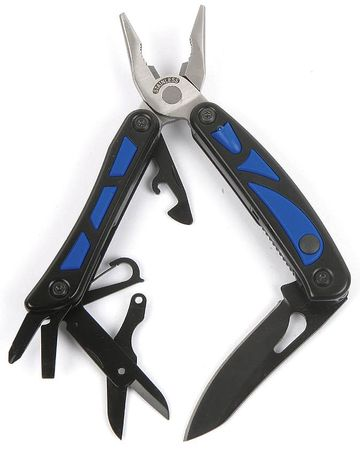 Multi-Tool w/LED, SS, 11 Function
