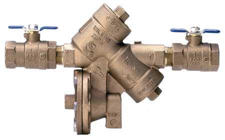 Reduced Pressure Zone Backflow Preventer
