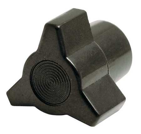 "Three Prong Clamp Knob,  10-32 Thread Size,  1/3""L,  GP Phenolic"