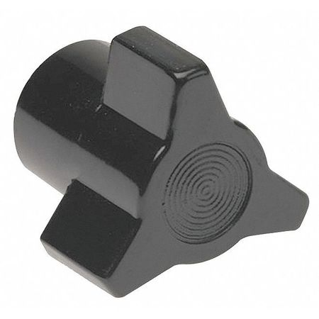 "Three Prong Clamp Knob,  10-24 Thread Size,  0.76""L,  GP Phenolic"