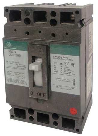 3P Standard Circuit Breaker 25A 600VAC