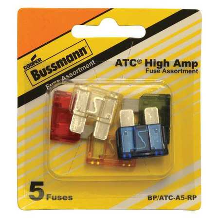 Blade Fuse Kit, 5, ATC, Automotive Fuse Kit