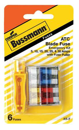 Blade Fuse Kit, 6, ATC, Automotive Fuse Kit