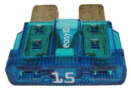 15A Fast Acting Blade Plastic Fuse 32VDC 2PK