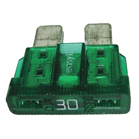 30A Fast Acting Blade Plastic Fuse 32VDC 2PK