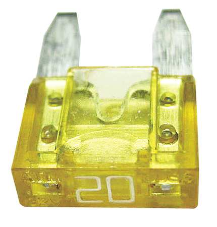 20A Fast Acting Blade Plastic Fuse 32VDC 2PK