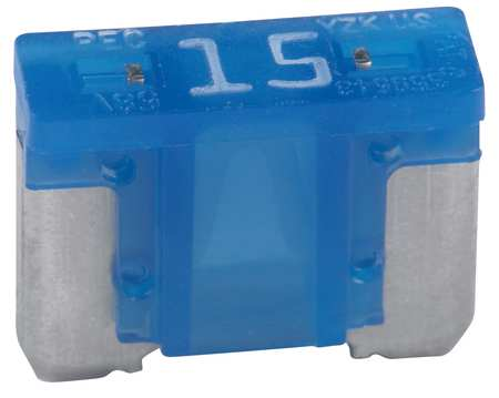 15A Fast Acting Blade Plastic Fuse 32VDC 5PK