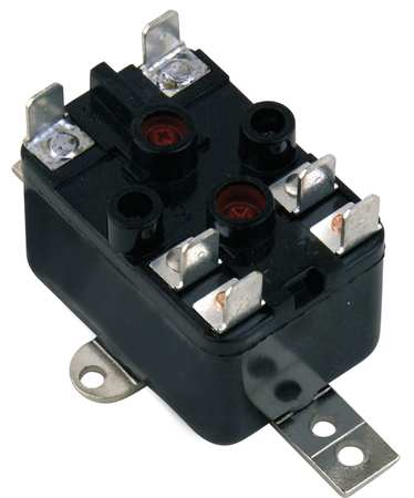 Enclosed Fan Relay, SPNO/SPNC, 24V