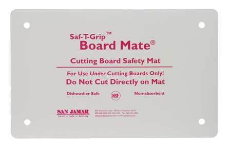 Cutting Board Mat, 10x16, White
