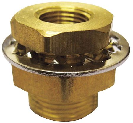 "1/4"" FNPT Brass Anchor Coupling"