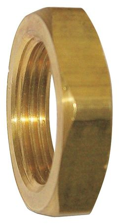 """1/4"""" FNPT Brass Locknut"""