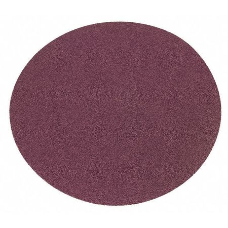 PSA Sanding Disc, AlO, Cloth, 8 In, 100 Grit