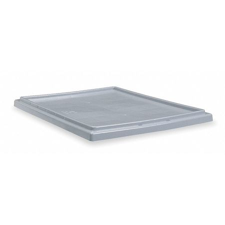 Nest/Stack Lid, Gray, 15-1/2x3/4x23-1/2