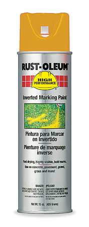 Inverted Marking Paint, Fl. Orange, 15 oz.