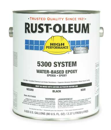 5300 Epoxy Paint, Black, 1 gal.