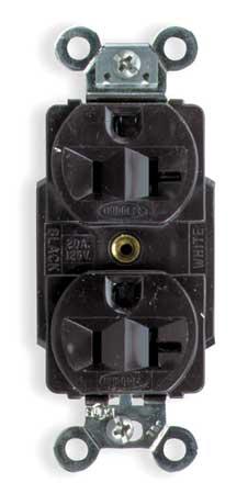 20A Duplex Receptacle 125VAC 5-20R BN