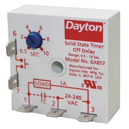 Buy Time Delay Relays Free Shipping Over Zorocom - Dayton 6a855 wiring diagram