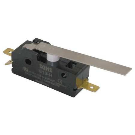 Snap Switch, 15A, SPDT, Hinge Lever