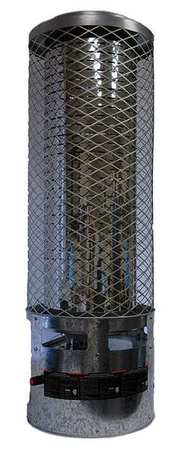 250000 BtuH Radiant Portable Gas Heater,  NG