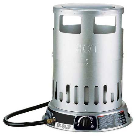 50000/80000 BtuH Convection Portable Gas Heater,  LP