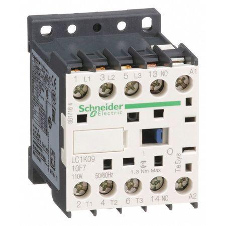 120VAC Non-Reversing IEC Mini Magnetic Contactor 3P 9A