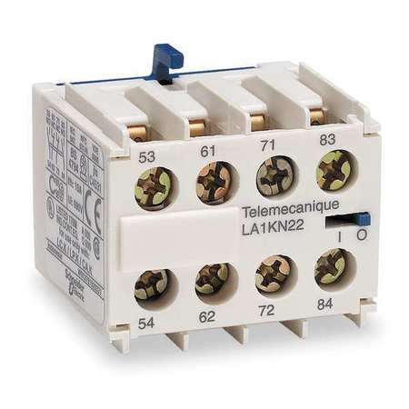 IEC Contact Block, 10A, 2NC, 2NO
