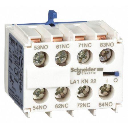 IEC Contact Block, 10A, 2NC, 2NO