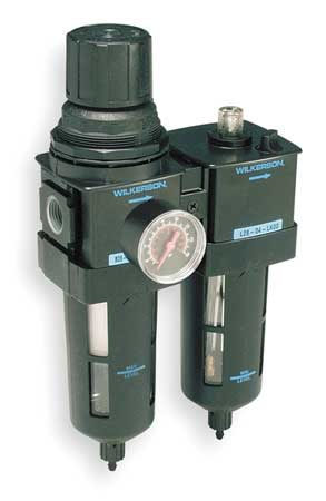Filter/Regulator/Lubricator, 1/2 In. NPT