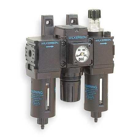 Filter/Regulator/Lubricator, 1/4 In. NPT