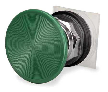 Non-Illum Push Button Operator, Green