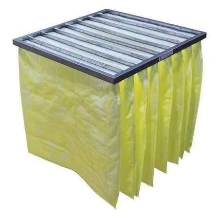 Pocket Air Filter, Synthetic, 24x12x29In.