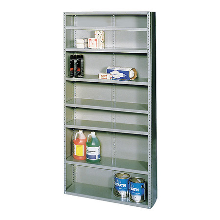 Shelving, Closed, Freestanding, Steel, 75""