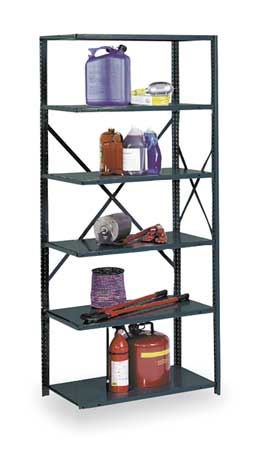Shelving, Open, Add-On, Steel, 85""