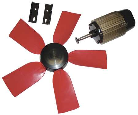 Exhaust Fan Kit, 22 In Dia, 5700 CFM, 120 V