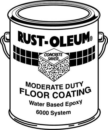 Rust Oleum Paint And Activator Clear Epoxy 6010