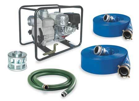 Engine Drive Pump Kit, 9.5HP, Honda Engine