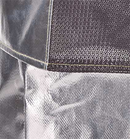 Aluminized Jacket,  Rayon,  XL