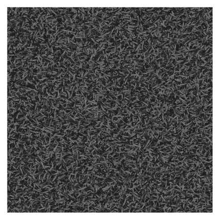 Carpeted Entrance Mat, Charcoal, 3ft.x4ft.